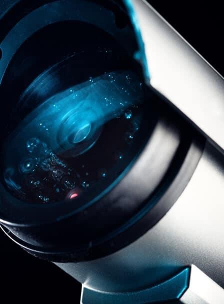 Objectif caméra infrarouge